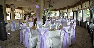 Wedding reception decorations - Citadel Inn, Lviv